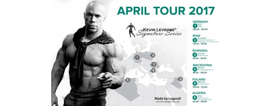 KEVIN LEVRONE APRIL TOUR 2017